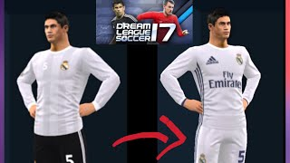How to put real Madrid kit 2018 for dream league soccer 2018