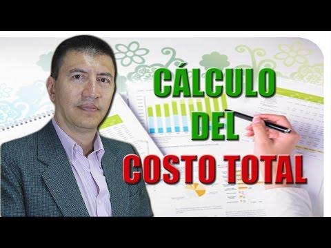 CALCULO DEL COSTO TOTAL