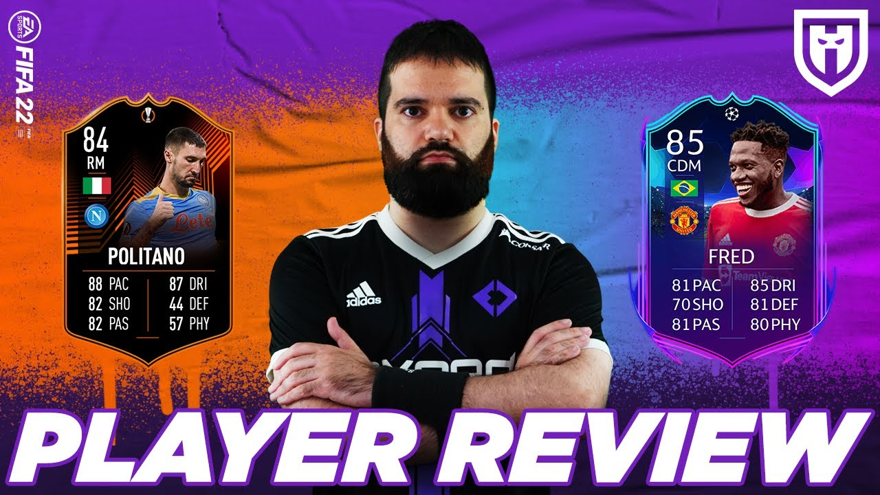 Download POLITANO 84 E FRED 85 RTTK /// FIFA 22 PLAYERS REVIEW