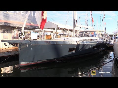 2018 Beneteau Oceanis 51.1 Yacht - Deck and Interior Walkaround - 2017 Annapolis Sail Boat Show