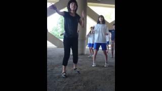 「新山中節輪踊り」を覚えよう♪ デモストレーション