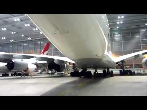 Lufthansa Technik A380 Hangar