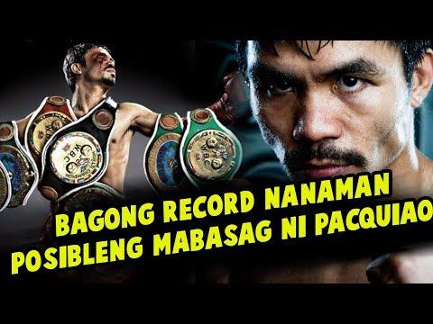 Manny Pacquiao May Bagong RECORD Na BABASAGIN | Wala Pa Daw Nakakagawa Nito Kahit Sino