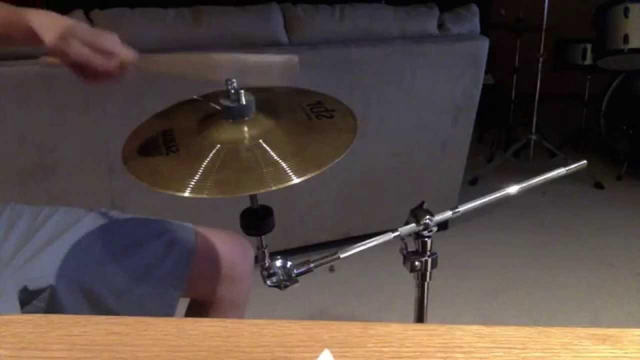 sabian sbr 10 splash cymbal sound test youtube. Black Bedroom Furniture Sets. Home Design Ideas