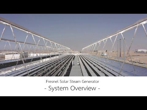 Fresnel Solar Steam Generator - System Overview