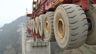 the biggest bridge construction machine heavy construction equipment world