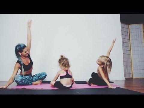 FAMILY YOGA | Beginner Yoga Practice with Kids!