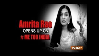 #MeToo Movement: Amrita Rao says no individual should be forced to do something out of consent
