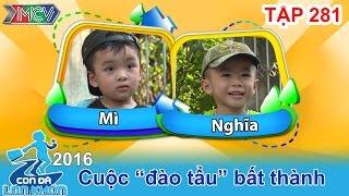 hai huoc voi hanh trinh cua 2 chang tho sua o to ti hon  con da lon khon  tap 281  17122016