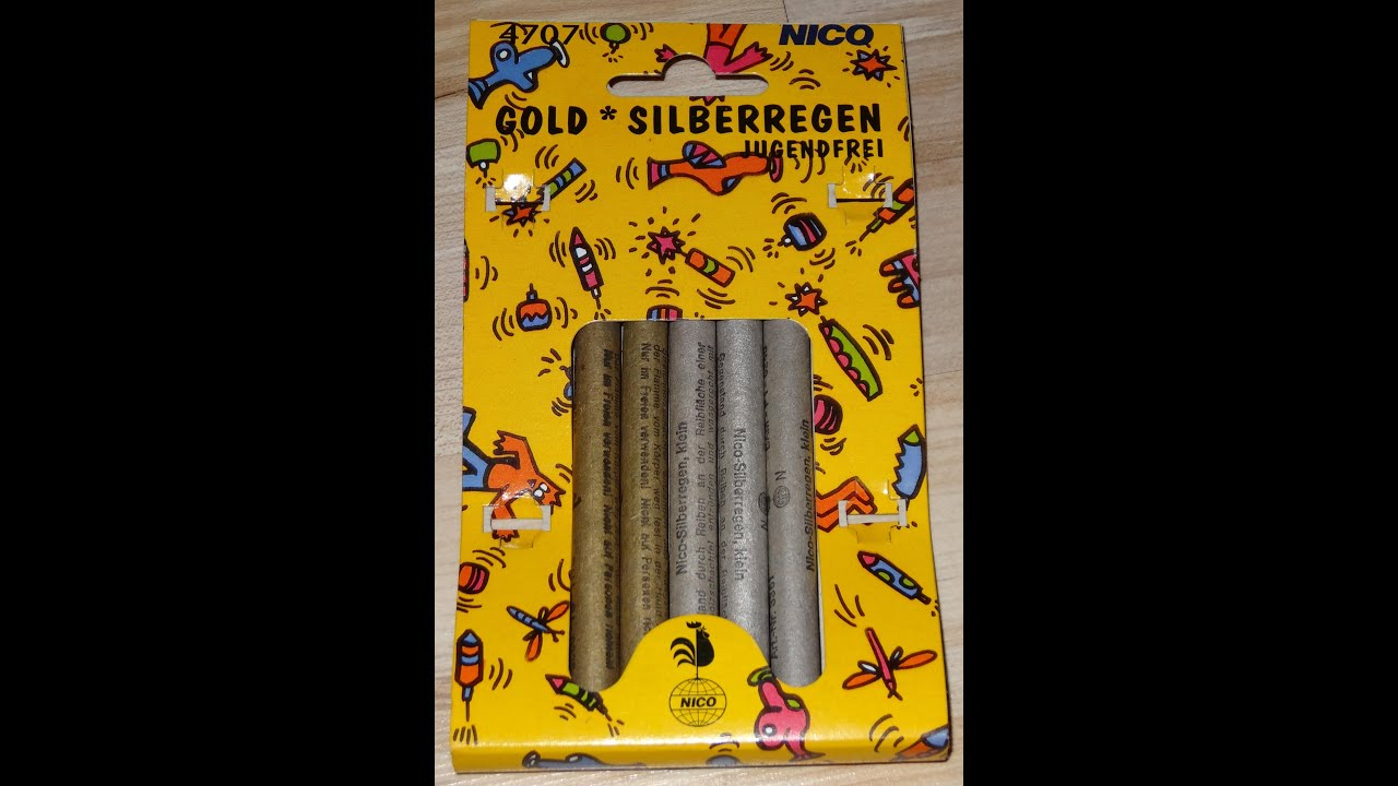 Nico Gold & Silberregen Rarität