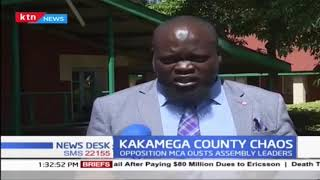 Opposition MCAs in Kakamega oust assembly leaders over incompetence