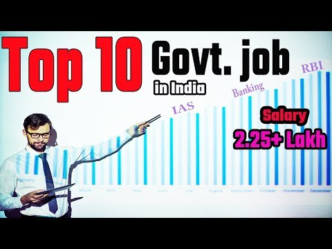 Top 10 Government Job In India | IAS, IPS, Railway, IFS, PSU, Doctor, Engineer, Teacher Etc,,