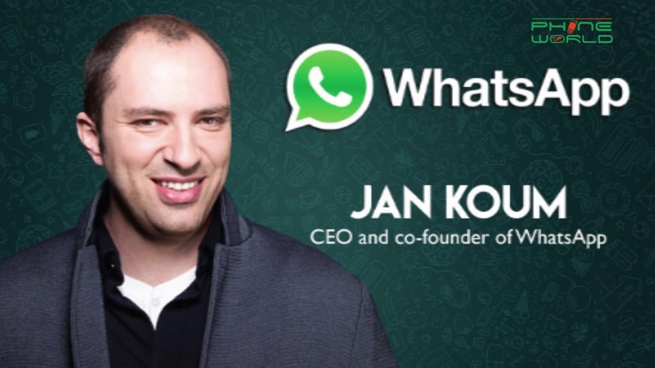Whatsapp ceo jan koum