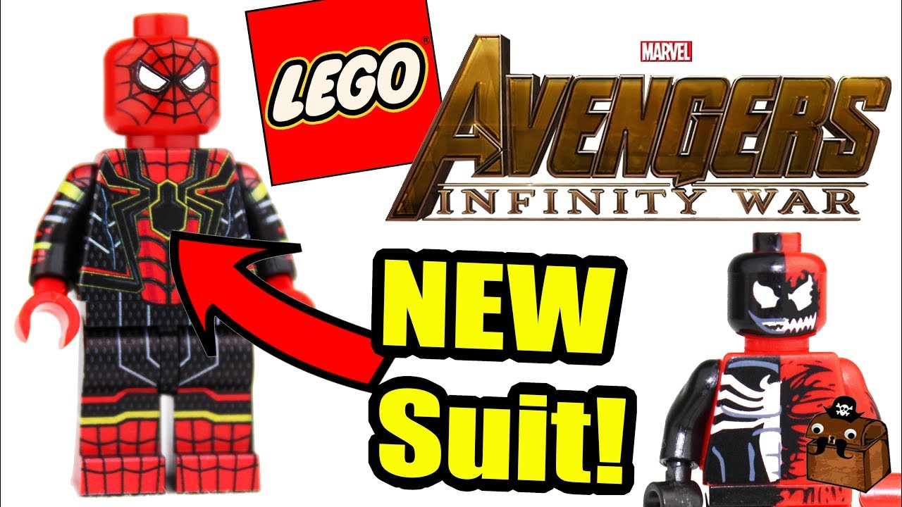 Venom Coloring Pages Lego Venom Spider Marvel Heroes: New Spider Man LEGO Custom Minifigures 2018