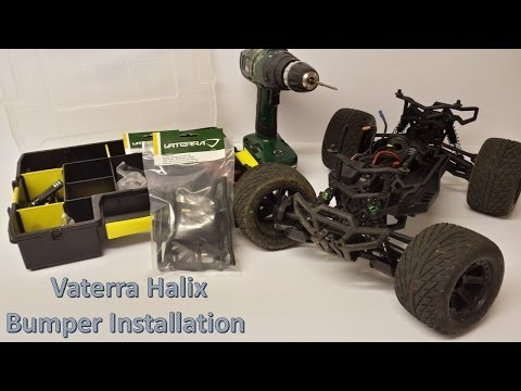 Vaterra Halix How To: Bumper Replacement