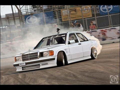 Benz Drift Car >> Mercedes Benz W201 190e Drift Youtube