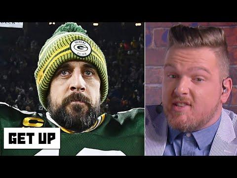 Pat McAfee mocks Aaron Rodgers' critics | Get Up