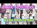 Huge Back To School Try-On Haul!!|Justice|Kohl's|PINK|Old Navy