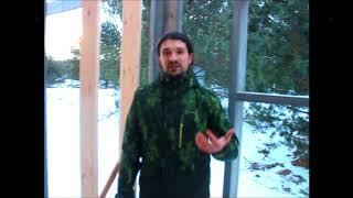 видео Рубрика-технологии строительства эко-домов. Какие ошибки допускают самостоятельные строители. Продолжение