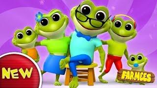 Frog Finger Family | Nursery Rhymes | Kids Songs | Baby Rhymes thumbnail