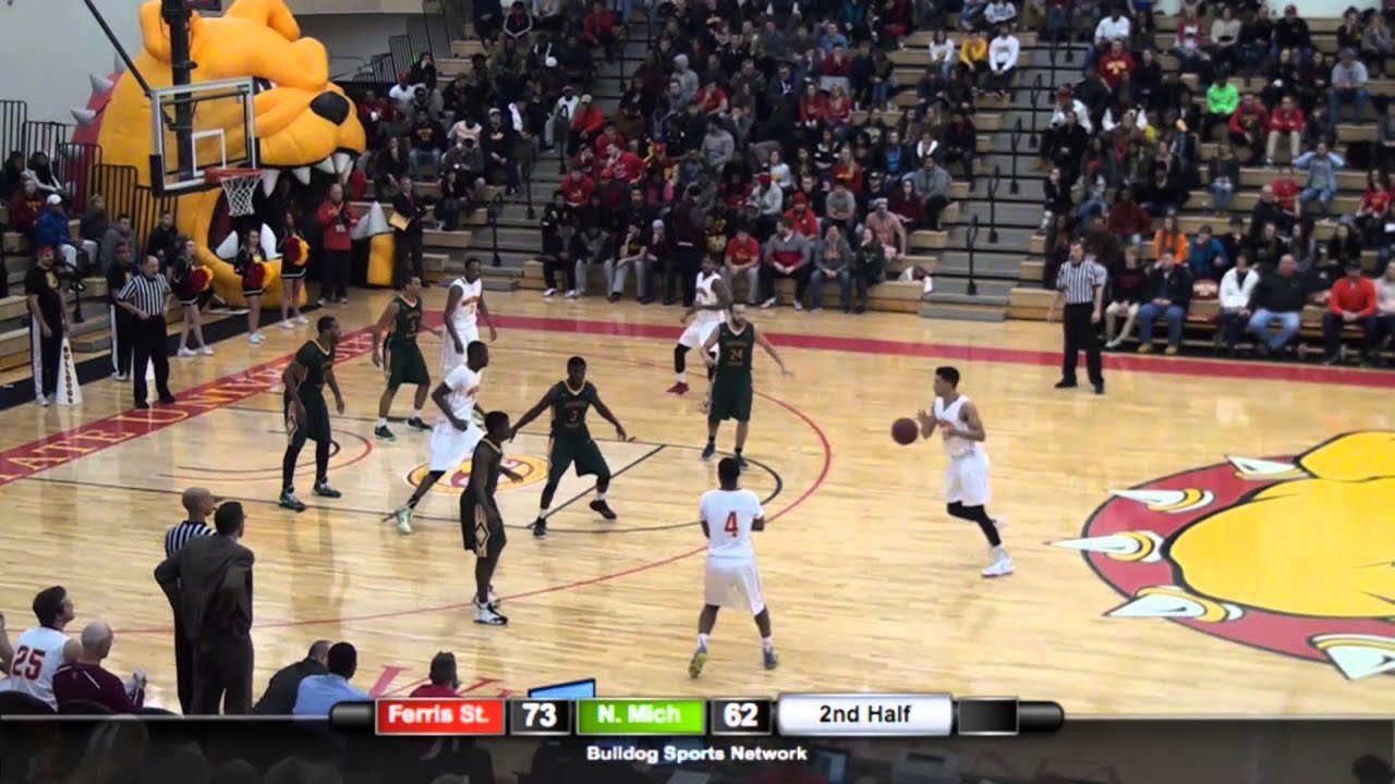 Jan 16 2016 Ferris State 96 Northern Michigan 79 Highlights Youtube