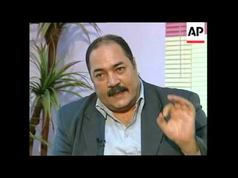 Interview with one of Saddam's lawyers about his hunger strike, trial