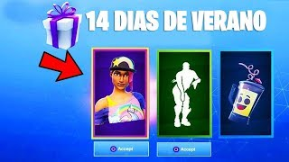 FORTNITE GIVES FREE GIFTS! 14 DAYS OF SUMMER!