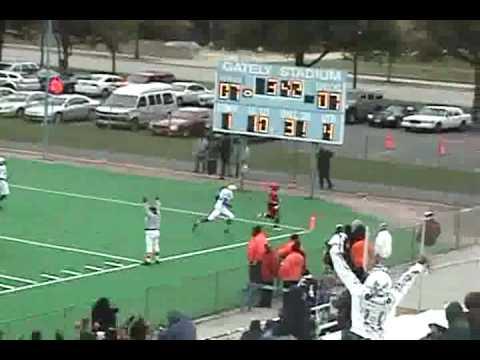 30 yd Touchdown by Terrence Thomas (WR/DB Fenger Academy High School)