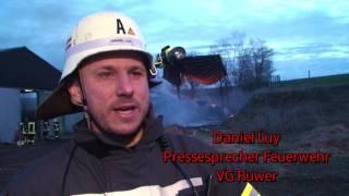 Großbrand auf dem Weisbergerhof: War es Brandstiftung?