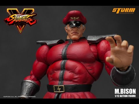 M Bison Storm Collectibles Street Fighter Youtube
