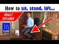 watch he video of How to lift, sit, stand, walk and run to prevent injuries and arthritis