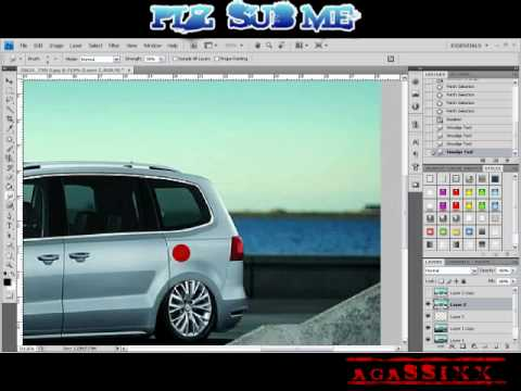 virtual tuning vw sharan 2010 youtube. Black Bedroom Furniture Sets. Home Design Ideas