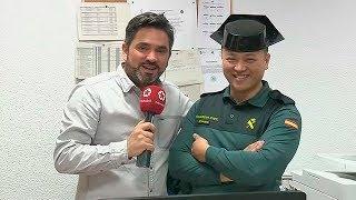 Agente Li, un chino único en la Guardia Civil