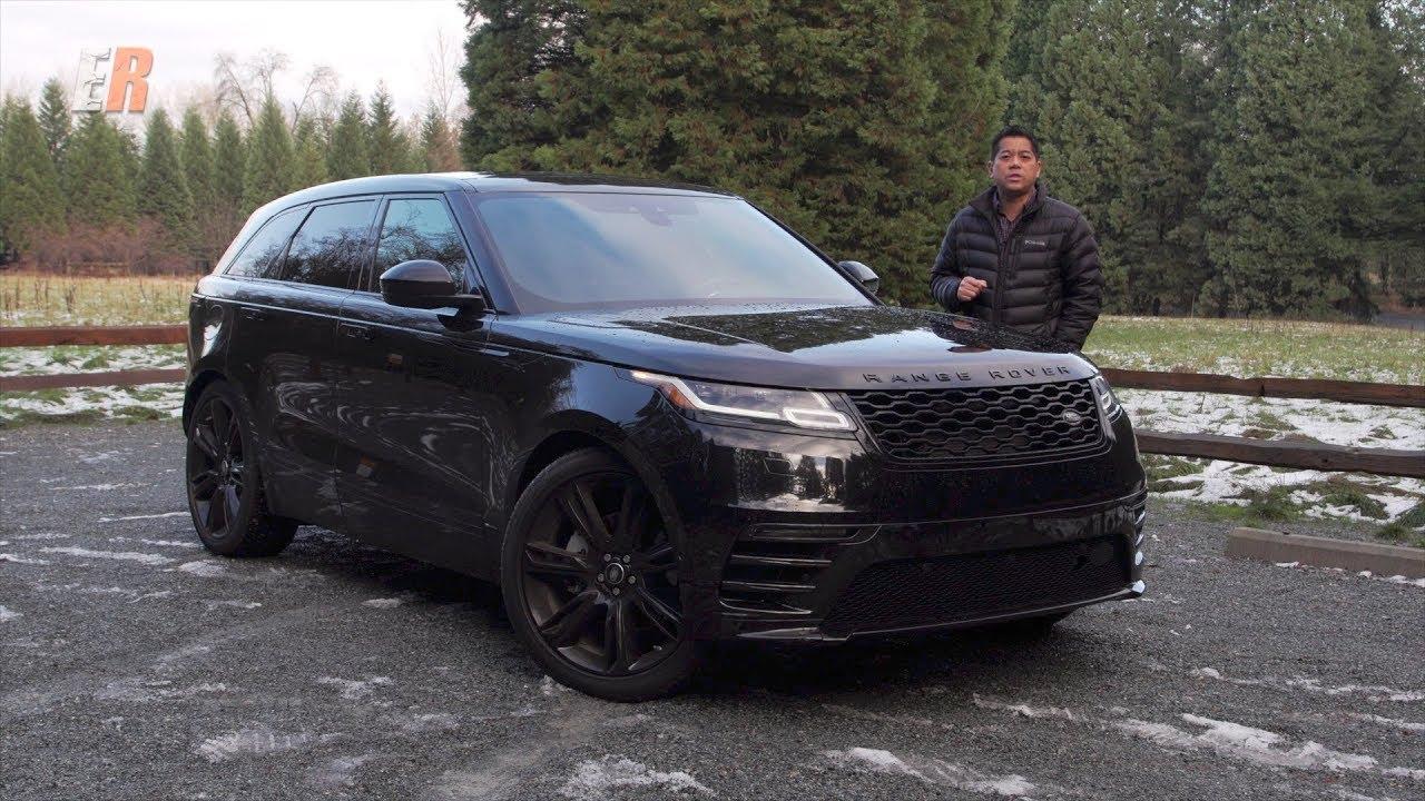 2018 Range Rover Velar Review - Darth Vader on Wheels ...