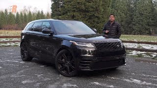 2018 Range Rover Velar Review - Darth Vader on Wheels