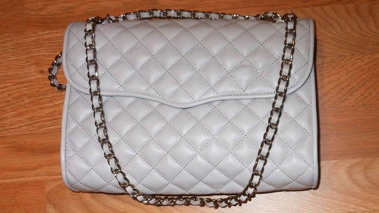 clearance prices cheap for sale good service Rebecca Minkoff quilted affair bag overview - YouTube