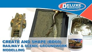 Create & Shape - Railway & Scenic Groundwork Modelling