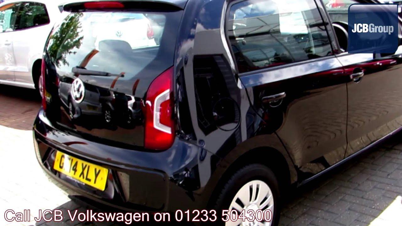 2014 Volkswagen Up Move Up 1l Deep Black Metallic Gf14xly