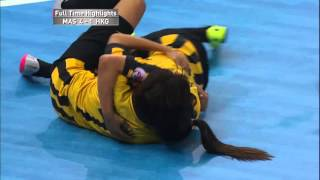 [Highlights] AFC Women's Futsal Championship Malaysia 2015 - Match #7 MALAYSIA V HONG KONG