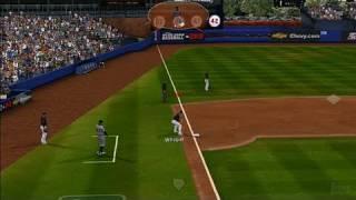 Major League Baseball 2K8 Xbox 360 Gameplay - Santana Gets