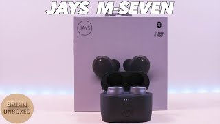 jAYS m-Seven True Wireless Earbuds - Review, Music, & Mic Samples