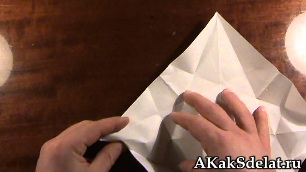 Как из бумаги сделать лебедя
