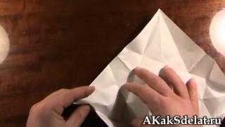Как из бумаги сделать лебедя(Как из бумаги сделать лебедя. Остальные поделки на http://AKakSdelat.ru/ . . . Как сделать из бумаги, как сделать..., 2012-01-02T09:22:41.000Z)