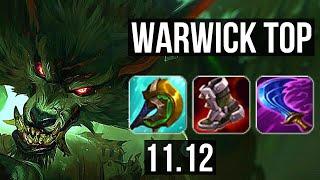 WARWICK vs AATROX (TOP) | Rank 2 Warwick, 7/1/6, 600+ games, Dominating | NA Grandmaster | v11.12
