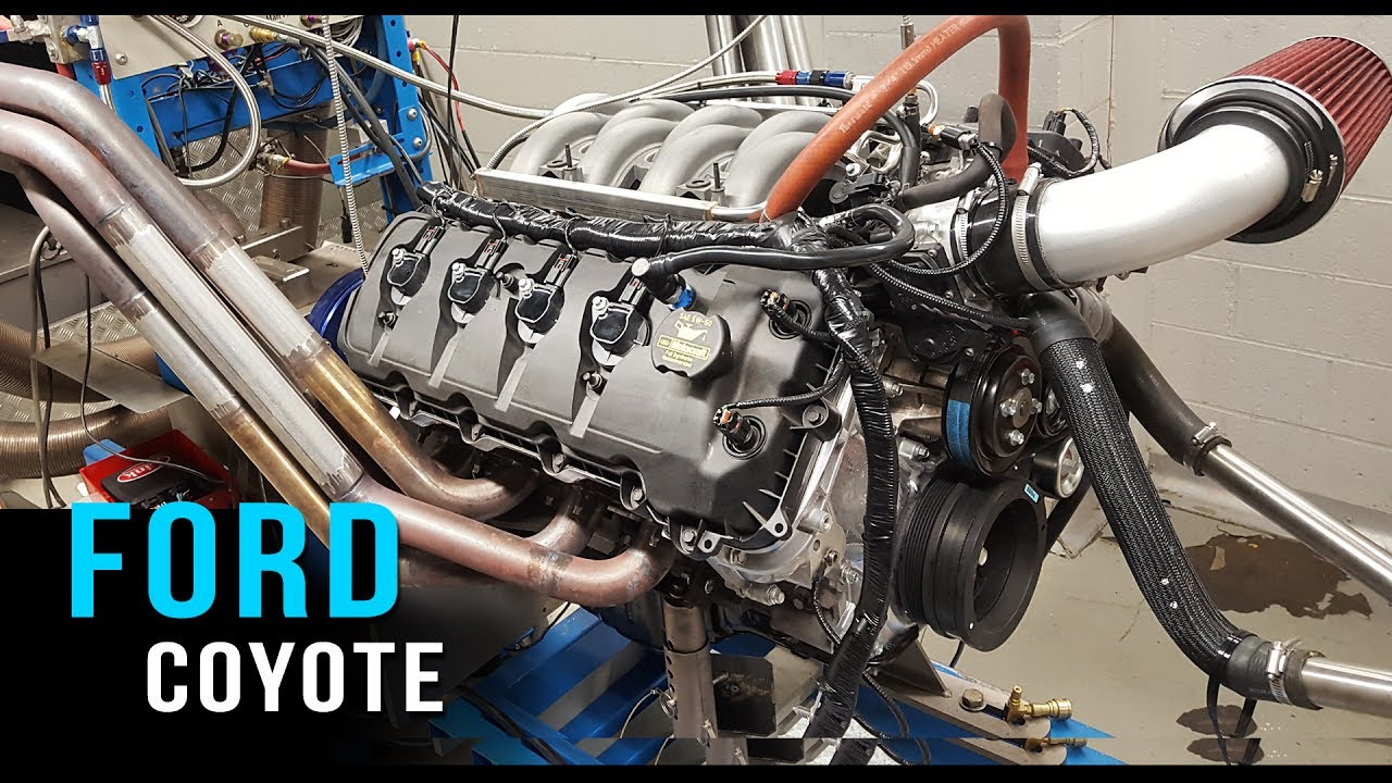 hight resolution of ford coyote v8 crate engine dyno test