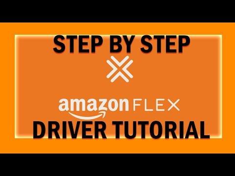 Step by step amazon flex driver tutorial.