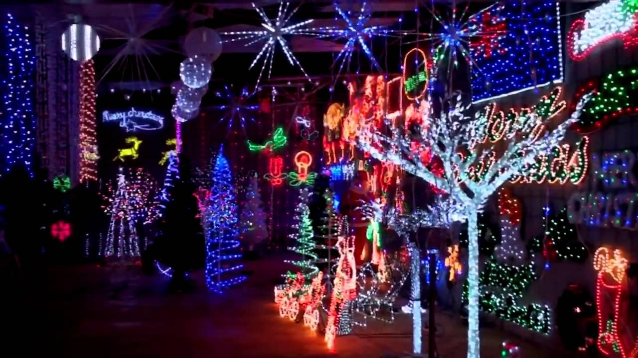 christmas light showcase spectacular display christmas lighting warehouse