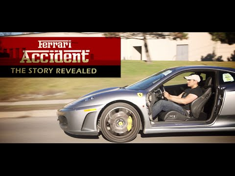 Ferrari Accident – $40,000 Door Repair!