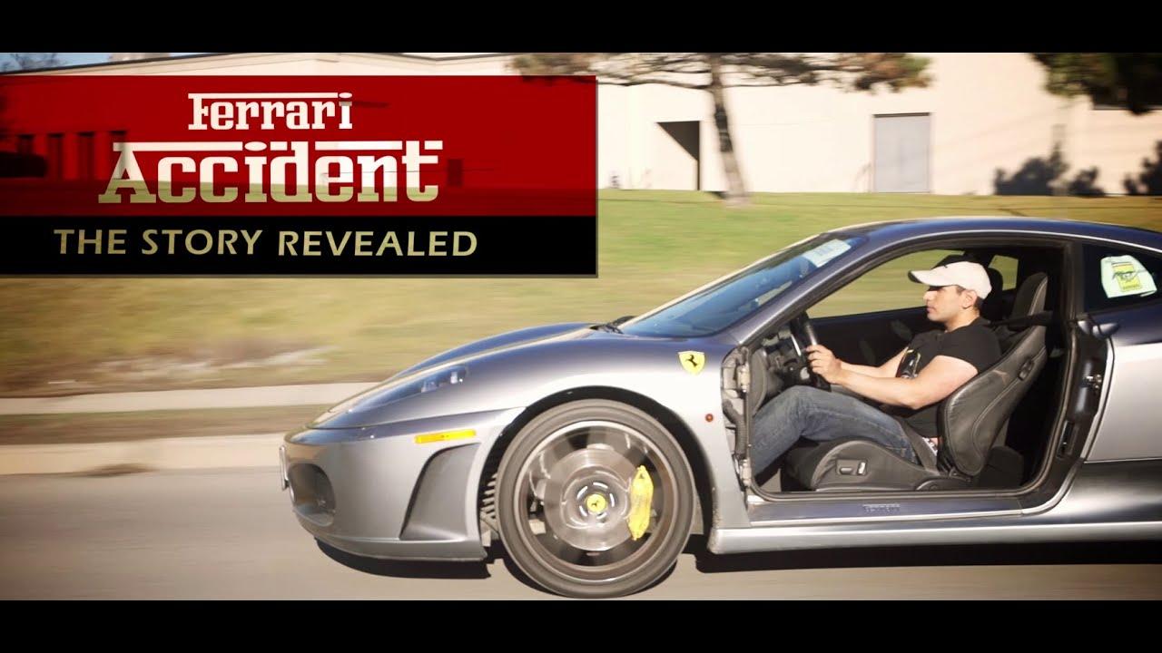 Ferrari Accident 40 000 Door Repair Youtube