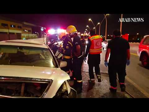 A day in the life of a Saudi Red Crescent paramedic